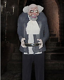 5 Ft Butler Animatronic - Decorations