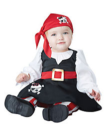 Baby Bucaneer Pirate Costume