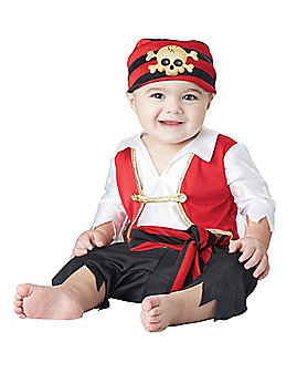 Baby Pee Wee Pirate Costume