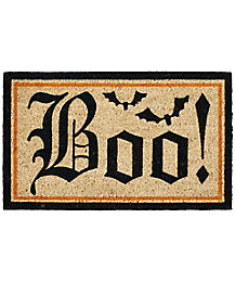 Boo Door Mat - Decorations