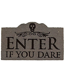 Enter If You Dare Doormat - Decorations