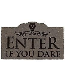 Enter If You Dare Doormat - Decorations