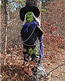 6 Ft Tree Hugger Witch - Decorations