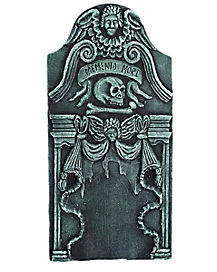 3 Ft Memento Mori Tombstone - Decorations