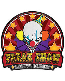 Freakshow Sign - Decorations