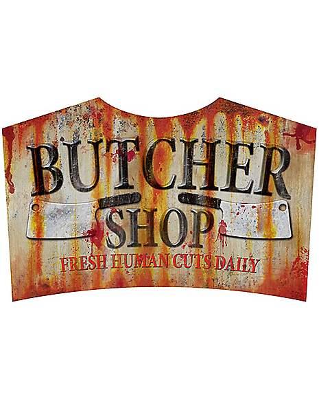 Spirit Halloween Wall Decor : Butcher song decorations spirithalloween
