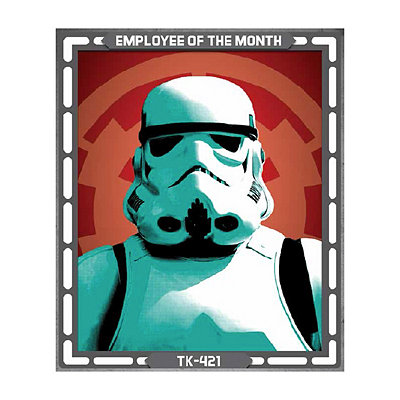 1.5 Ft Stormtrooper Sign Decorations - Star Wars