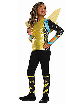 Kids Bumblebee Costume Deluxe - DC Girls
