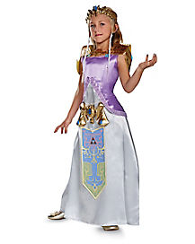 Kids Princess Zelda Costume Deluxe - Legend of Zelda