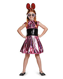 Kids Blossom Costume - The Powerpuff Girls