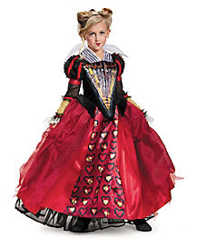 Kids Red Queen Costume Deluxe - Alice Through the Looking Glass