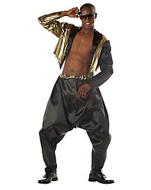 Adult Old School Rapper Costume