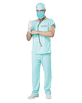 Adult Dr. Gruesome Grinner Costume