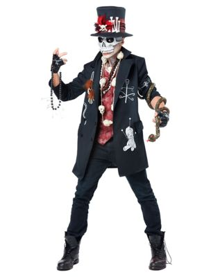 Mens Adult Voodoo Magic Costume