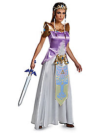 Adult Princess Zelda Costume Deluxe - The Legend of Zelda