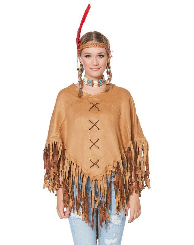 Индейское пончо сшить своими руками 54