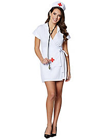 Adult Fashion Nurse Costume