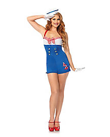 Adult High Seas Honey Romper Costume