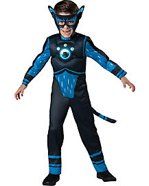 Kids Blue Panther Creature Power Suit Costume – Wild Kratts