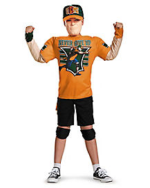 Kids John Cena Muscle Costume - WWE