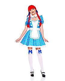Adult Racy Rag Doll Costume