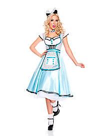 Adult Adorable Alice In Wonderland Costume