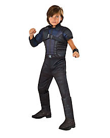 Kids Hawkeye Muscle Chest Costume Deluxe - Captain America Civil War