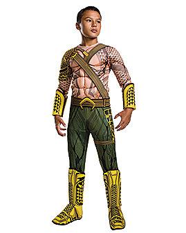 Kids Aquaman Costume Deluxe – DC Comics