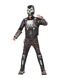 Kids Crossbones Muscle Costume Deluxe - Captain America Civil War