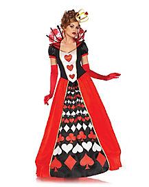 Adult Queen Of Hearts Costume