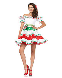 Adult Senorita Dress Costume