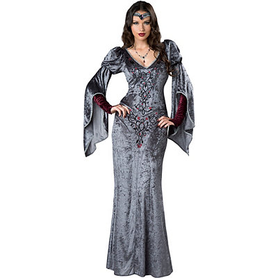 Adult Dark Medieval Maiden Costume
