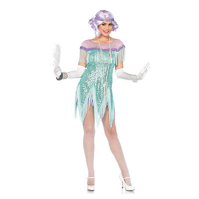 Vintage Inspired Halloween Costumes Adult Roaring 20s Trixie Costume $49.99 AT vintagedancer.com