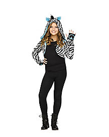 Kids Zebra Shrug