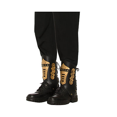 Vintage Inspired Halloween Costumes Lace Up Steampunk Boot Tops $29.99 AT vintagedancer.com