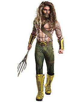 Adult Aquaman Costume - Batman v Superman: Dawn Of Justice
