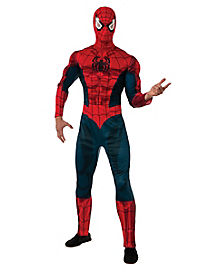Adult Spider-Man Costume Deluxe - Marvel