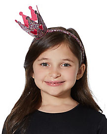 Kids Mini Glitter Crown