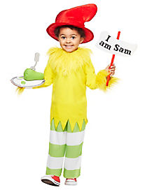 Toddler Green Eggs and Ham Costume - Dr. Seuss
