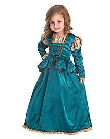 Toddler Scottish Princess Costume