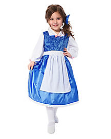 Toddler Blossoming Blue Princess Costume