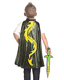 Kids Dragon Cape and Sword Set
