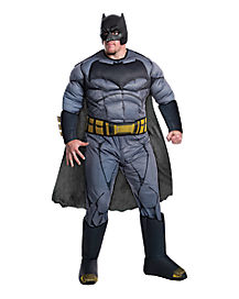 Adult Batman Plus Size Costume Deluxe - Batman v. Superman: Dawn of Justice