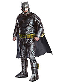 Adult Armored Batman Plus Size Deluxe Costume – Batman v. Superman: Dawn of Justice