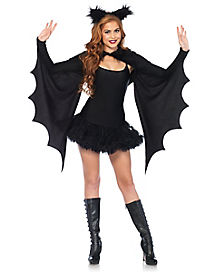 Bat Cape and Headband Kit