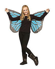Kids Blue Butterfly Wings