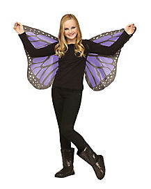 Kids Purple Butterfly Wings