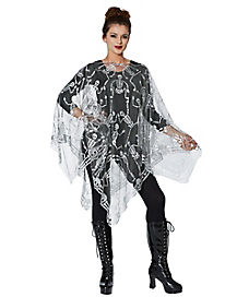 Skeleton Dance Poncho