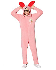 Adult Hooded Bunny A Christmas Story Pajama Costume