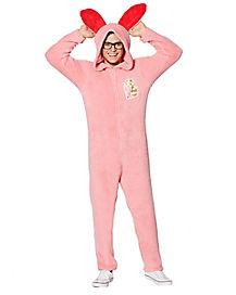 Adult Hooded Bunny A Christmas Story Pajama Costume